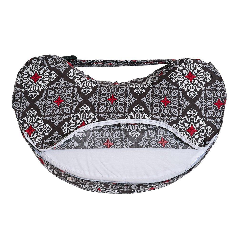 Bebe au Lait Premium Cotton Nursing Pillow Slipcover - Amalfi