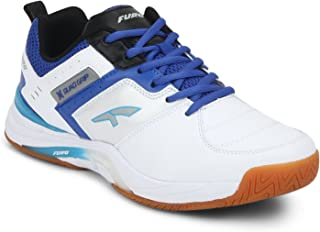 FURO by Redchief Men's White Tennis Shoes-10 UK (45 EU) (T6003 813_10)