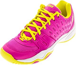 Prince T22 Pink/Yellow Junior Shoes