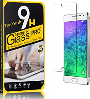 The Grafu Galaxy A5 2017 Screen Protector Tempered Glass 1 Pack 9H Scratch Resistant Screen Protector Film for Samsung Galaxy A5 2017 Bubble Free
