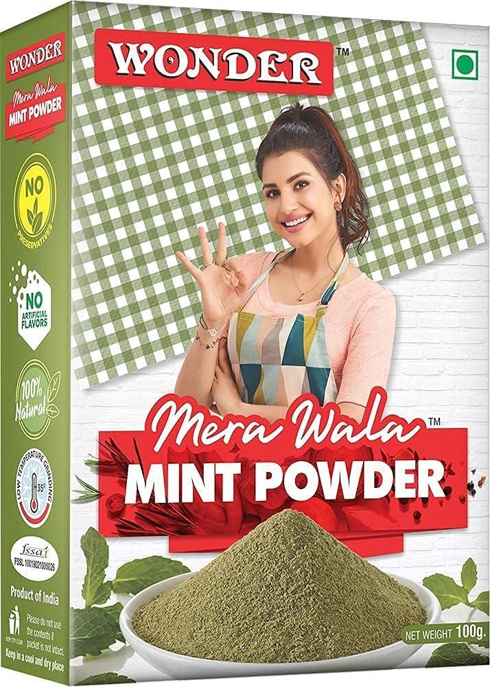 Gannon Wonder Mera Max 52% OFF Wala Powder Pudina Japan Maker New Mint Leaf