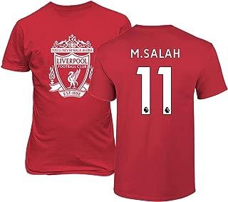Tcamp Liverpool #11 Mohamed Salah Premier League Men's T-Shirt
