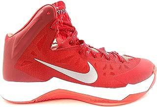 Mens Hyper Quickness GRFX Red/Metallic Silver Basketball Shoes