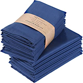 Ruvanti Cotton Dinner Napkins 12 Pack (18