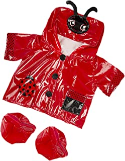 Ladybug Raincoat Fits Most 14
