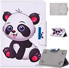 Universal 10 inch Tablet Case, ANGELLA-M Folio Cover Stand & Card Slots Protective Case HP Slate10 HD/HP Pro Slate 10 EE G1 - C08