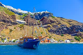 Santorini Sunset Dinner Cruise for Two - Tinggly Voucher/Gift Card in a Gift Box
