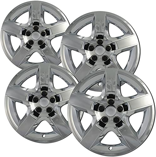 high quality Hub-caps for 11-16 Honda Odyssey (Pack of 4) Wheel Covers 17 sale inch high quality Snap On Chrome online