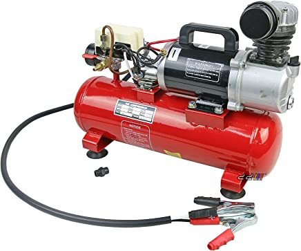 12V 450W Air Compressor 8L Receiver Tank 120L/min Oil Tank For Tyre & Air