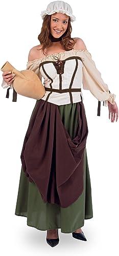 Tienda de moda y compras online. Limit Sport - Disfraz Disfraz Disfraz de tabernera medieval Azalea, para adultos, Talla L (MA675)  venta mundialmente famosa en línea