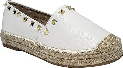 VICTORIA ADAMES Kylie White Espadrilles Shoes