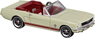 Hallmark Keepsake Mini Christmas Ornament 2019 Year Dated 1966 Lil' Classic Cars Miniature, Metal, 0.57
