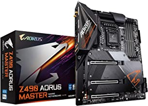 GIGABYTE Z490 AORUS Master (Intel LGA1200/Z490/ATX/Intel 2.5G LAN/3xM.2 Thermal Guard/SATA 6Gb/s/USB 3.2 Gen 2/Intel Wi-Fi...