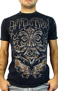 Affliction Abrasive Line Chrome Short Sleeve T-Shirt
