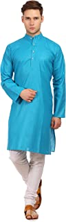 Men's Cotton Silk Festive and Casual Kurta Pyjama -16 Colors