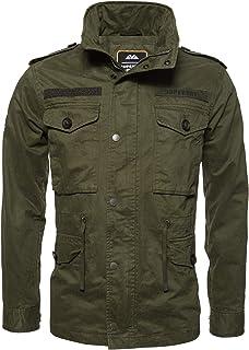 Superdry Rookie Field Jacket Coats Hommes Kaki Parkas