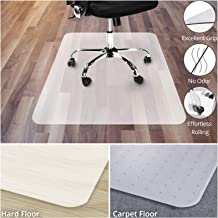 Office Chair Mat for Hardwood Floor   Opaque Office Floor Mat   BPA, Phthalate and Odor Free   Multiple Sizes Available- 36