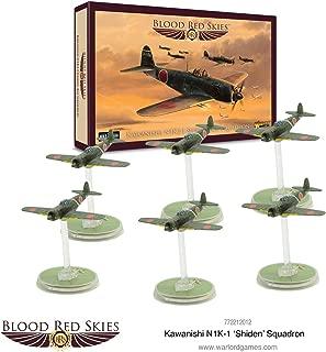 Blood Red Skies, Warlord Games, 1:200 Scale, Kawanishi N1K-1 'Shiden' Squadron