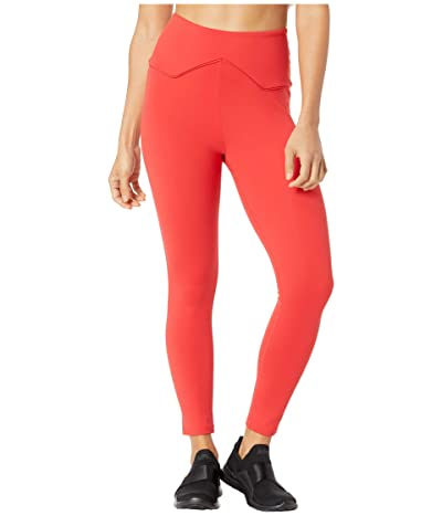 YEAR OF OURS The Rodeo Leggings (Red/Red) Women