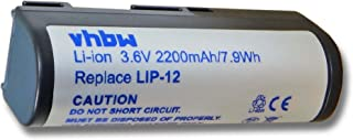 vhbw Li Ion Akku 2200mAh (3.6V) für Sony MZ B3, MZ E3, MZ R2, MZ R3, MZ R30, MZ R35, MZ R4, MZ R4ST wie F1255 80055, F1255A, F1287A, LIP 12, LIP 12H.