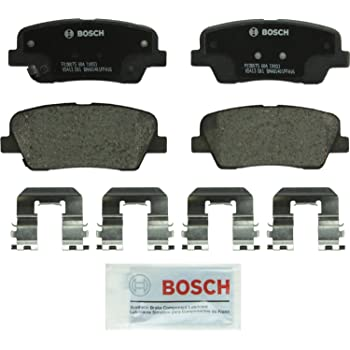 Brembo Front Brake Ceramic Pads Disc Rotors for Hyundai Entourage Kia Sedona