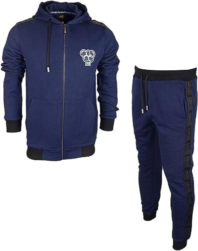 Cavalli Class Olimpic Coton Slim Fit Elastic Logo Navy SurvêteHommest