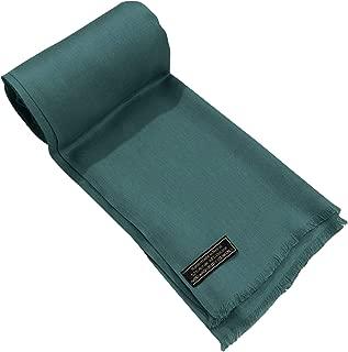 CJ Apparel 纯色设计 Nepalese 流苏围巾披肩围巾披肩围巾 全新