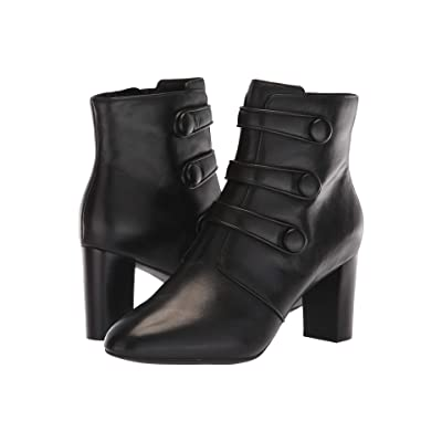 Clarks Chryssa Ella (Black Leather) Women