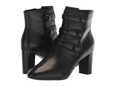 CLARKS Chryssa Ella, Black Leather