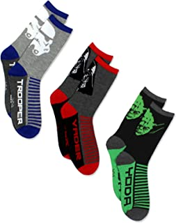 Boys 3 pack Socks (Little Kid/Big Kid/Teen/Adult)