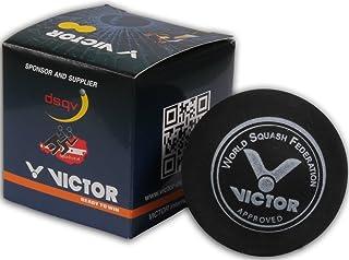 Victor Palle da squash 12& 4veloce, Lento, Medium e molto veloce palla da squash