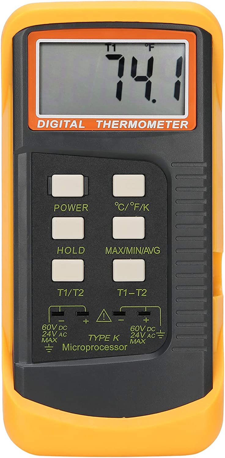Thermometer Shockproof Accurate Dual San Jose Mall Thermocouple Therm Philadelphia Mall Channel