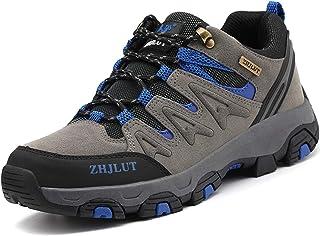 Lvptsh Zapatillas de Trekking para Hombre Botas de Montaña Zapatillas de Senderismo Calzado de Trekking Botas de Senderism...