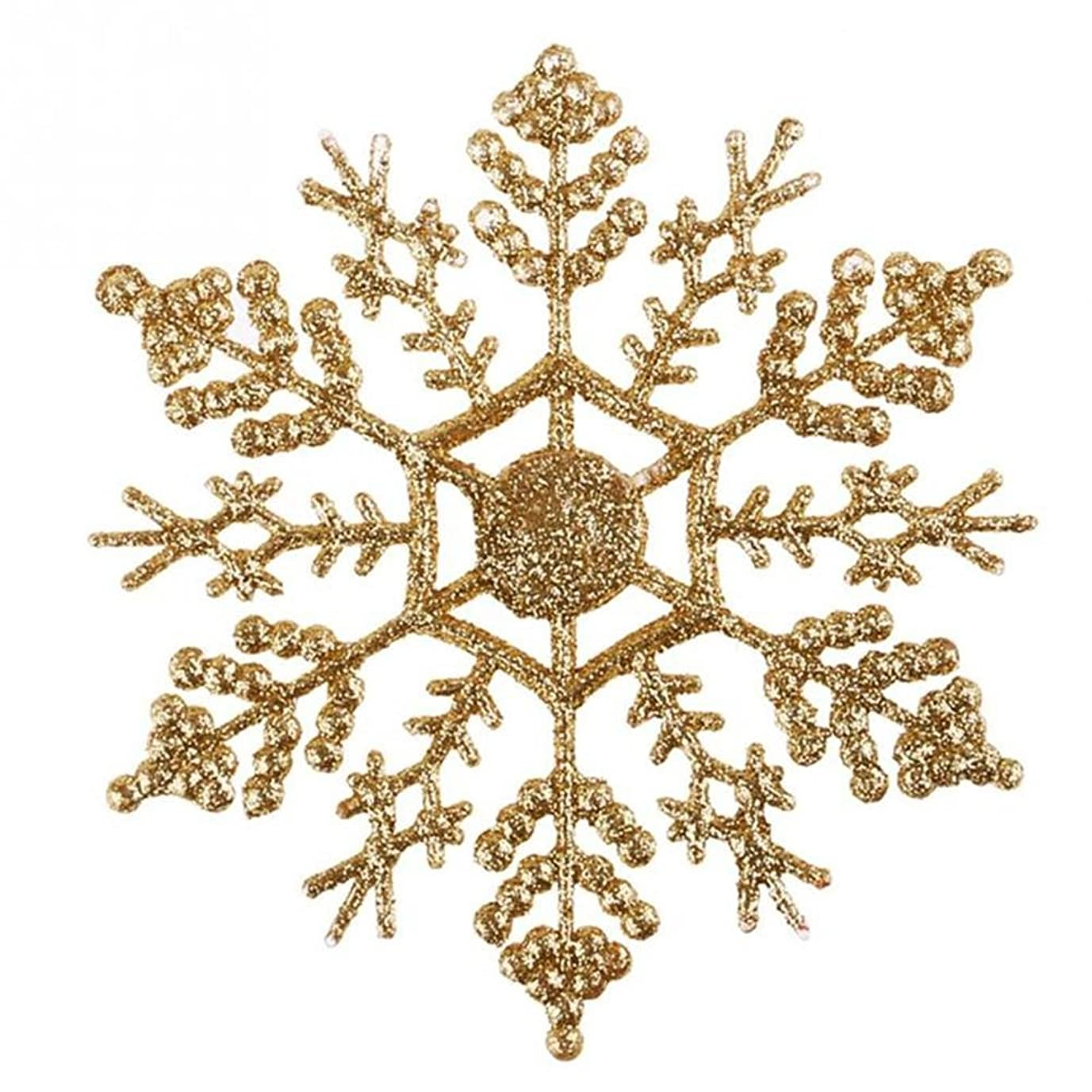 イソギンチャクこどもセンターご予約(ドリーミー ハット) Dreamy hut スノーフレーク 雪の結晶 クリスマスオーナメント 飾り 8色入り