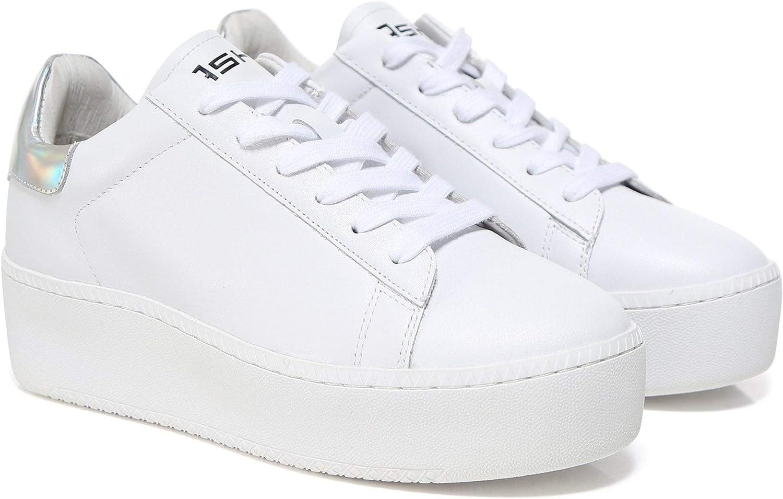 Ash Women's A16021 Cult Flatform Trainer White