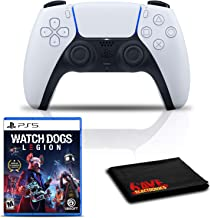 $133 » PlayStation 5 DualSense Wireless Controller Bundle with Watch Dogs: Legion PS5 Game and Cleaning Cloth