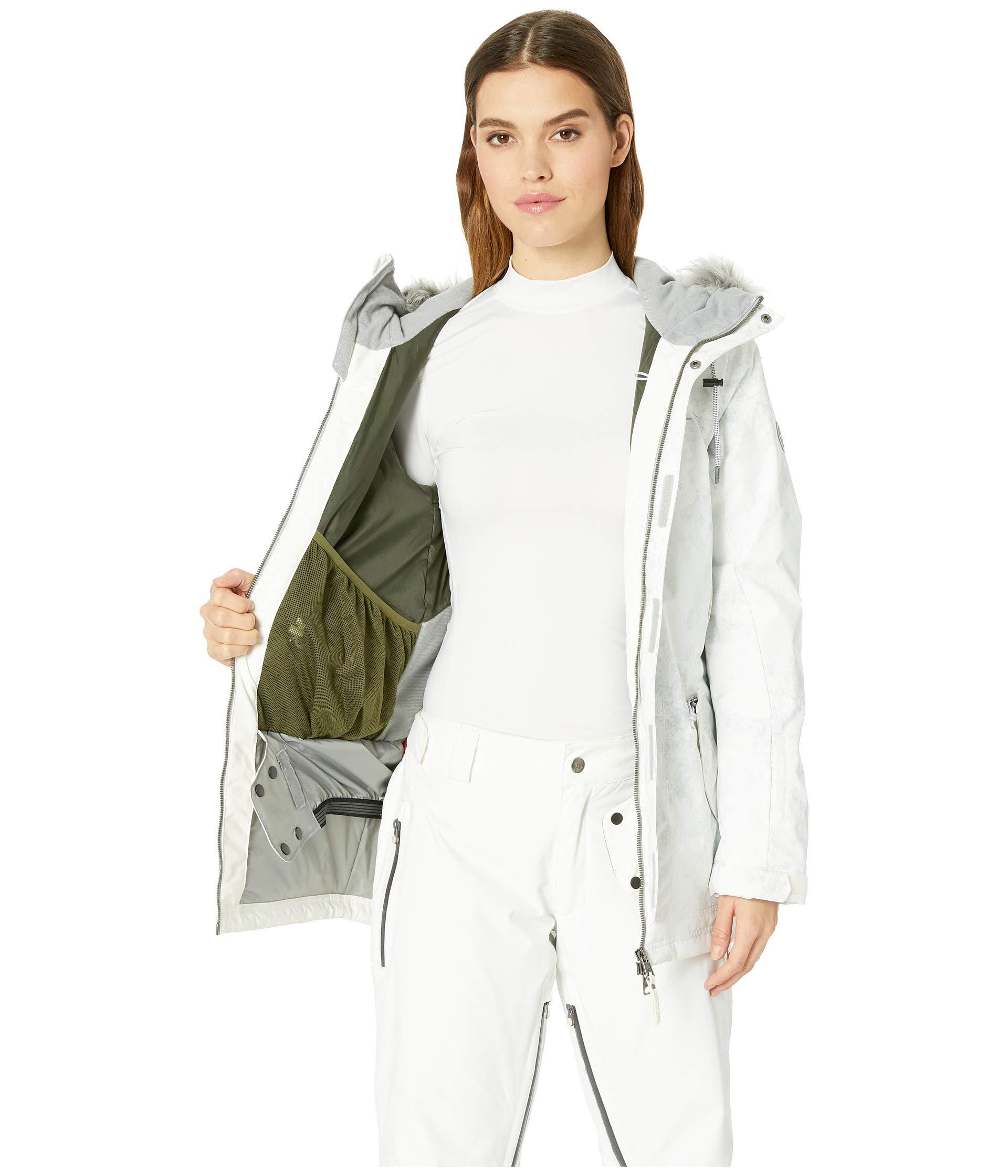 Cluster Hybrid Iii Aop Grey white Jacket O'neill Rq5vnff