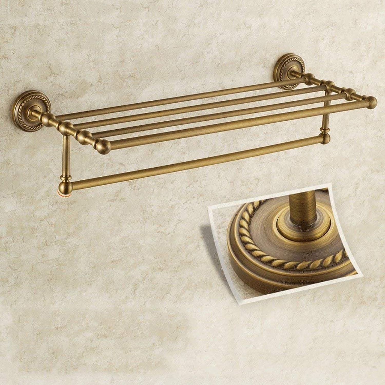 JU Handtuchhalter europäischen antiken Bad Handtuchhalter voll von Kupfer Kupfer Kupfer Handtuchhalter Bad Racks Hardware Anhänger Suite B07G76WTYZ | Tadellos  07abf6