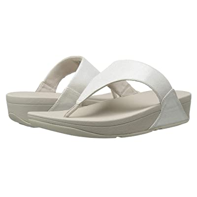 FitFlop Lulutm Toe-Thong Sandals (Silver) Women