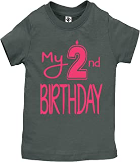 Boy's & Girl's My 2nd Birthday Shirts Handmade Clothes - Second Birthday Outfit