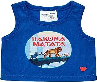 Build A Bear Workshop Disney The Lion King Hakuna Matata Tank Top