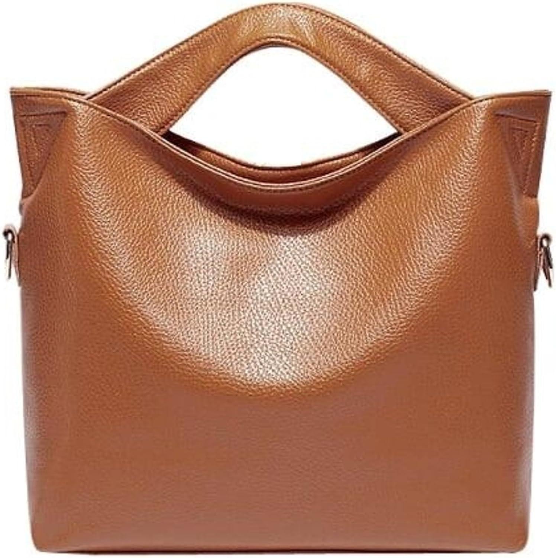 Casual Everyday Leather Shoulder Bag