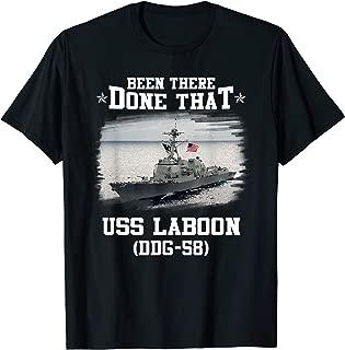 DDG-58 USS Laboon T-Shirt Navy Ships Tee