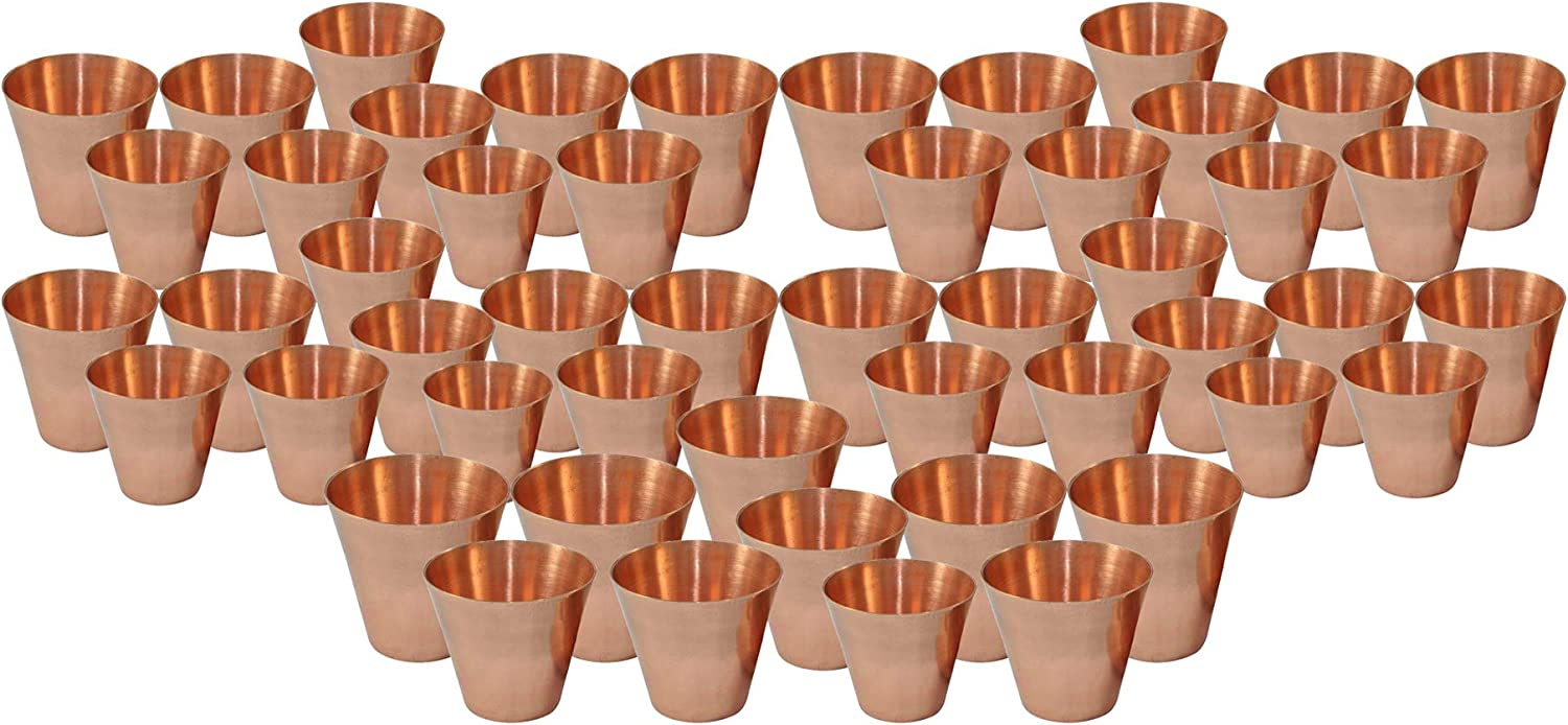 Pack of 50 Handcrafted Parijat Bar Cock Smooth 2021 spring and Minneapolis Mall summer new Handicraft Copper