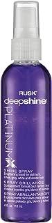 RUSK Deepshine PlatinumX Shine Spray, 4 oz.