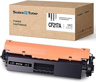 SWISS TONER CF217A Cartucho de tóner Compatible con HP 17A CF217A para HP Laserjet Pro M102A M102W HP Laserjet Pro MFP M130a M130nw M130fn M130fw Impresora, 1x Negro