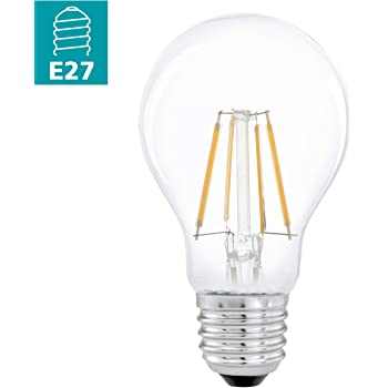EGLO LED E27 Lampe, Glühbirne klassisch, LED Lampe für Retro