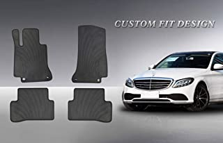 Mercedes-Benz W204 C-Class Coupe Genuine All Season Rubber Floor Mat Set NEW