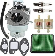 Allong GCV160 Carburetor for Honda GCV160A HRS216 GCV160LA GCV160LA0 GCV135 HRZ216 HRB216 HRT216 HRR216 Engine Motor Husky Power Troy-Bilt Pressure Washer Lawnmower Poulan Mower Tune Up Kit