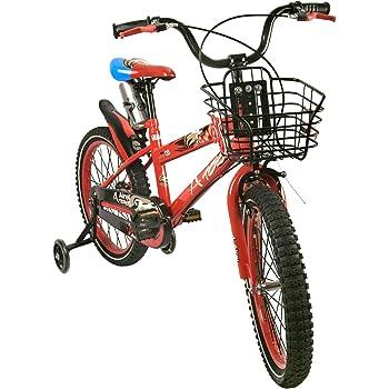 Zerimar Infantiles para niños ruedines y Cesta| Bici niño 14,16,18 ...